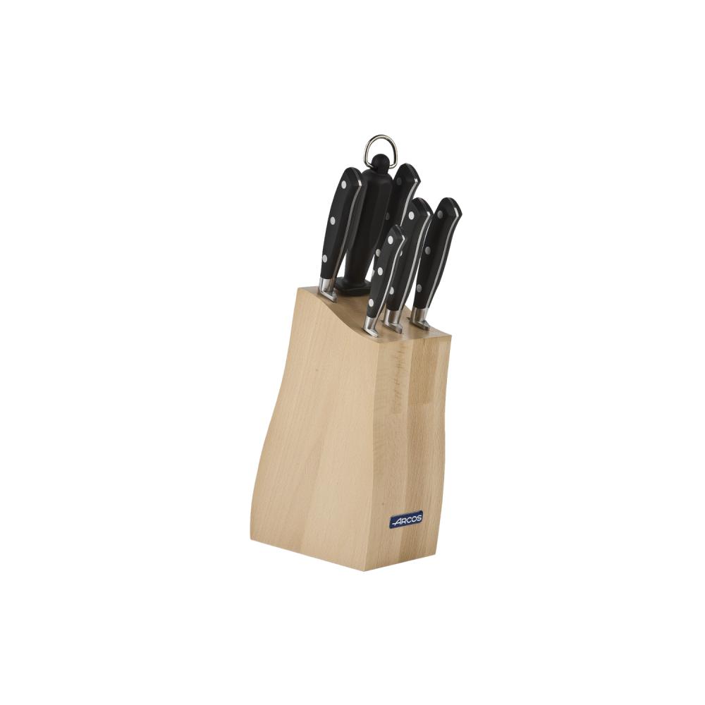 Набір ножів із 6-ти предметів з підставкою Riviera Arcos  (234200)