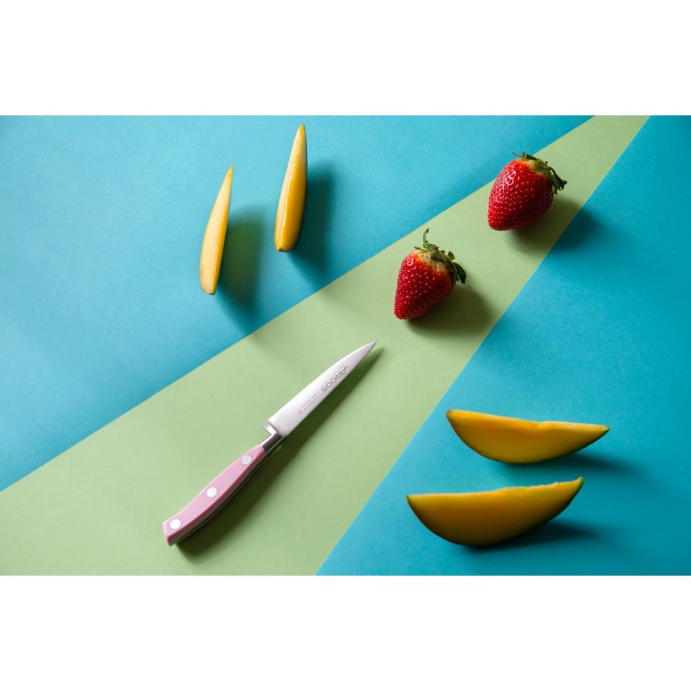 Ніж для чищення овочів 100 мм Riviera Pink Arcos  (230254)
