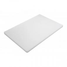 Обробна дошка біла 400х300х20 мм Basic line FoREST (403420)