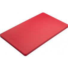 Обробна дошка червона 500х300х20 мм Basic line FoREST (443520)