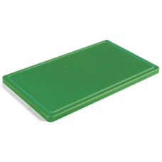 Обробна дошка зелена з жолобом 500х400х20 мм FoREST (460354)