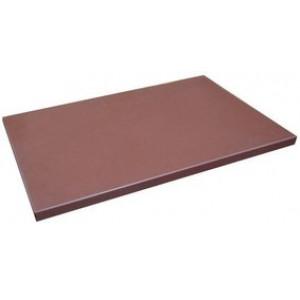 Разделочная доска коричневая 600х400х20 мм Resto line FoREST (470664)